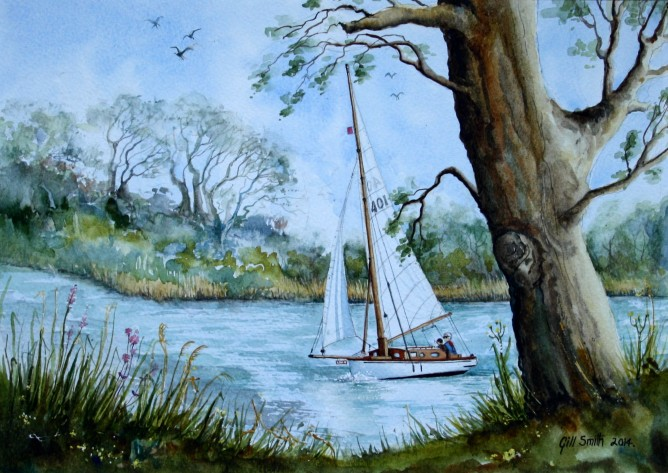 Summer Sailing by Gill Smith